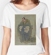 Katoaoka Nizaemon - Shunei Katsukawa - 1793 Women's Relaxed Fit T-Shirt