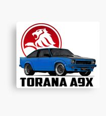 Holden Torana - A9X Hatchback - Blue 2 Canvas Print