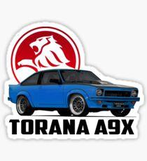Holden Torana - A9X Hatchback - Blue 2 Sticker