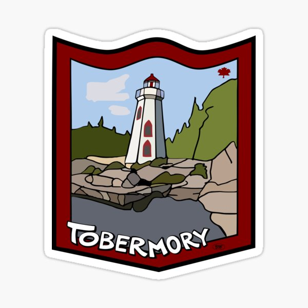 Tobermory, Ontario, Canada - Big Tub Sticker