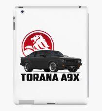 Holden Torana - A9X Hatchback - Black 2 iPad Case/Skin