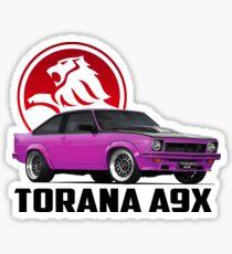 Holden Torana - A9X Hatchback - Pink 2 Sticker