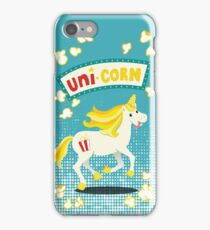 Unicorn on the cob iPhone Case/Skin