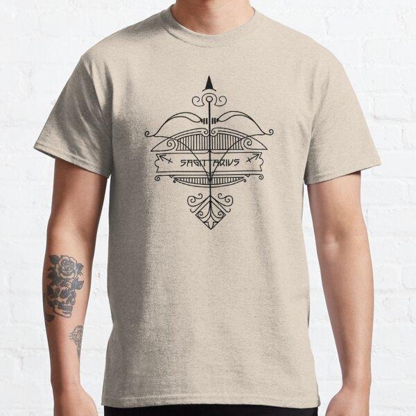 Zodiac Symbols - Sagittarius Classic T-Shirt