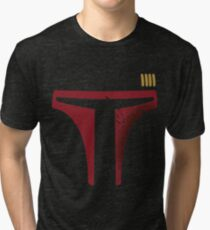 Star Wars - Destroyed Boba Fett Tri-blend T-Shirt
