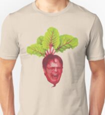 The Office: Dwight Schrute Beet Slim Fit T-Shirt