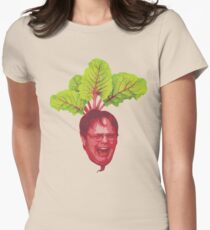 The Office: Dwight Schrute Beet Womens Fitted T-Shirt