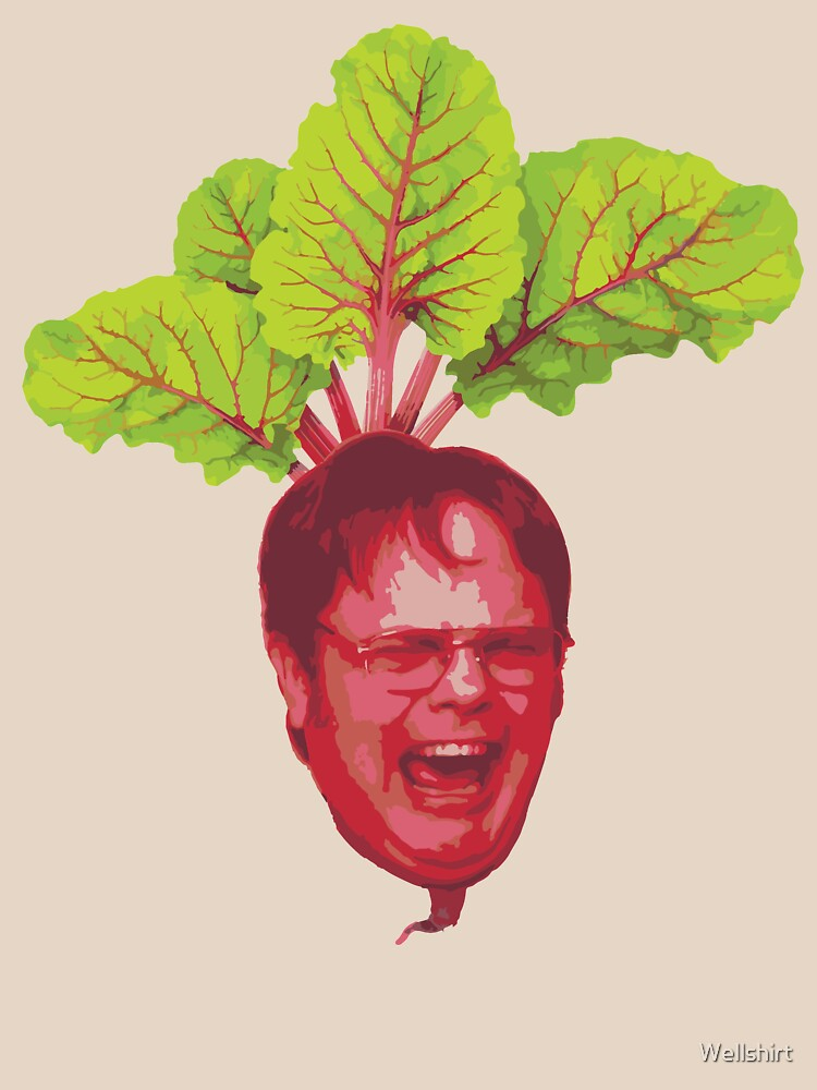 The Office: Dwight Schrute Beet | Unisex T-Shirt