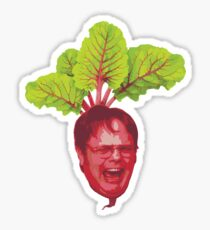 The Office: Dwight Schrute Beet Sticker