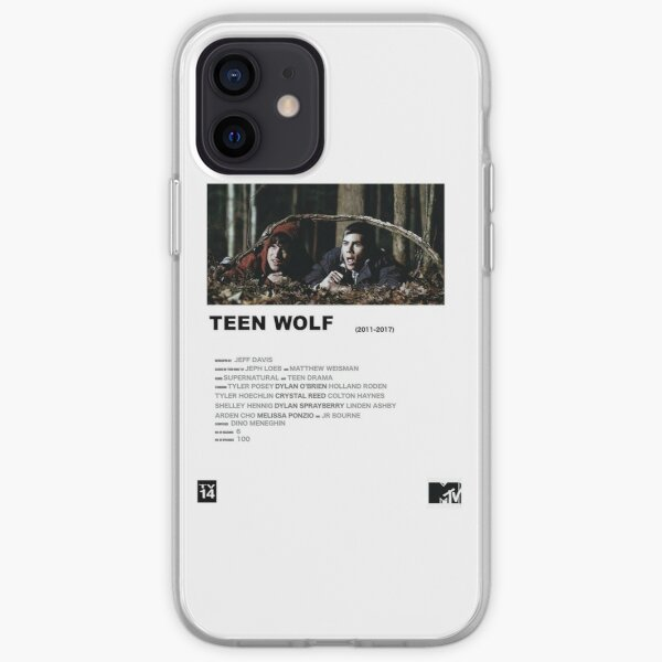Teen Wolf Poster V2 iPhone Flexible Hülle