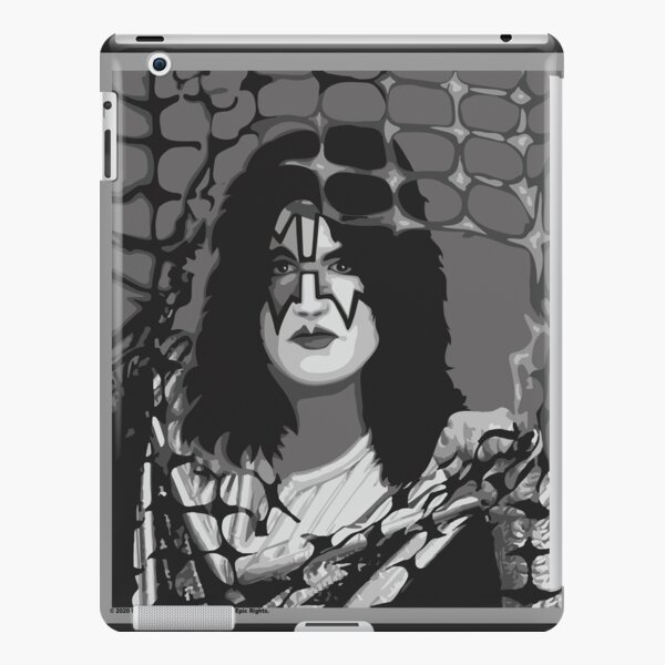 The Spaceman from Kiss band portrait iPad Snap Case