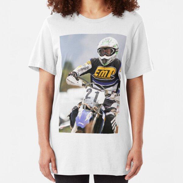 The iron rider Slim Fit T-Shirt