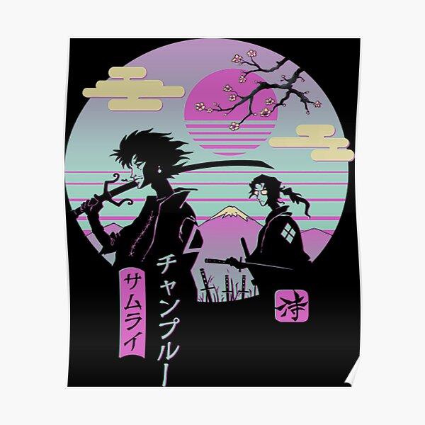 Anime Samurai Chillhop Poster