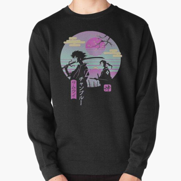 Anime Samurai Chillhop Pullover Sweatshirt