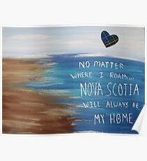 Nova Scotia Home Poster