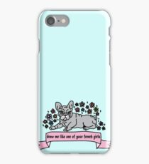 Frenchie <3 iPhone Case/Skin