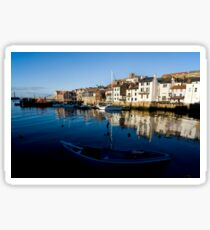 Whitby Harbour North Yorkshire Sticker