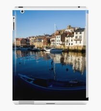 Whitby Harbour North Yorkshire iPad Case/Skin