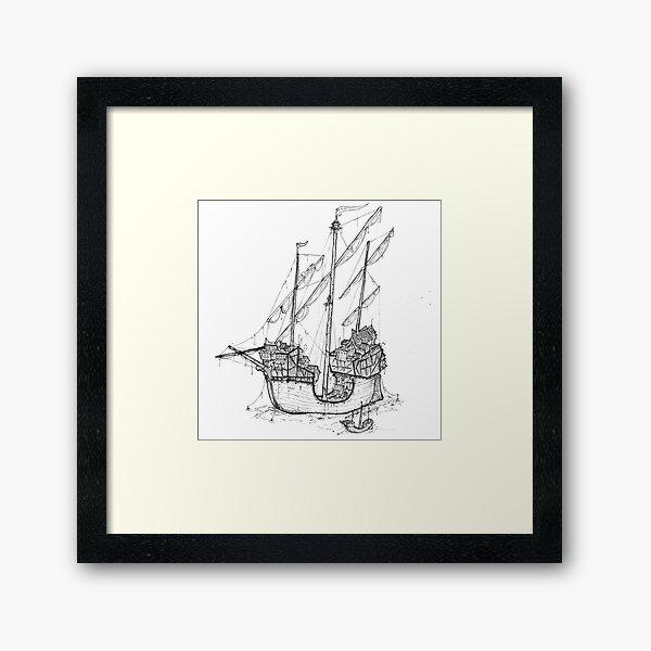 A TownShip Framed Art Print