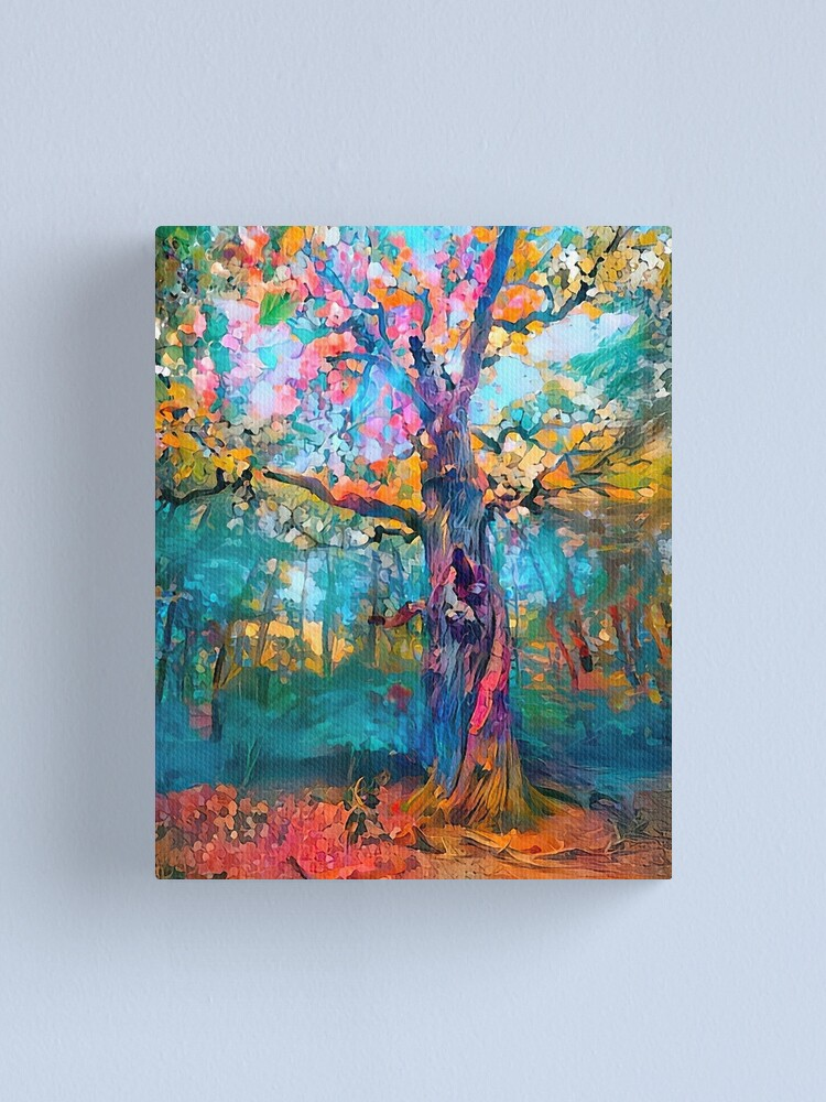 Alternate view of Giant of the Forest Canvas Print