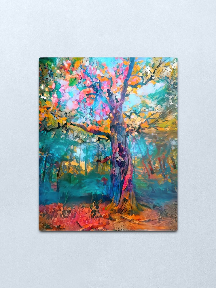 Alternate view of Giant of the Forest Metal Print