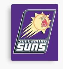 Screaming Suns Canvas Print