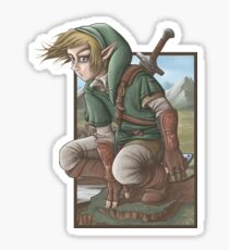 LINK has a nice view! Sticker