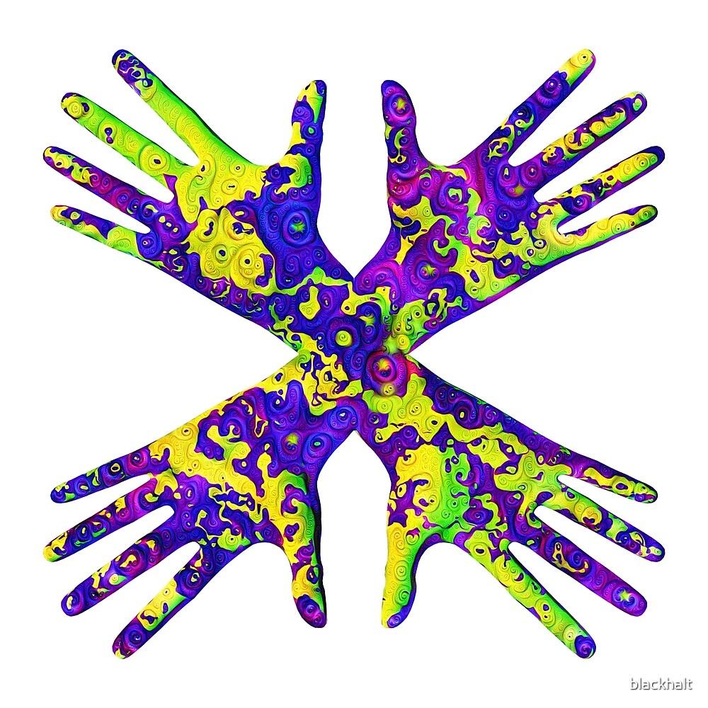 #DeepDream Painter's gloves 5x5K v1456325888 by blackhalt