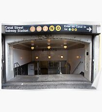 Canal Street Station Poster