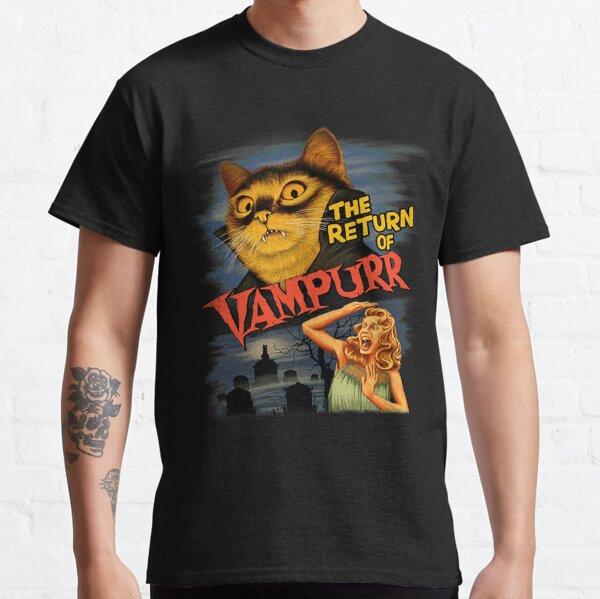 Gato el regreso de vampurr Camiseta clásica