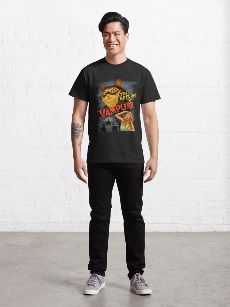 Alternate view of Cat The Return of Vampurr Classic T-Shirt