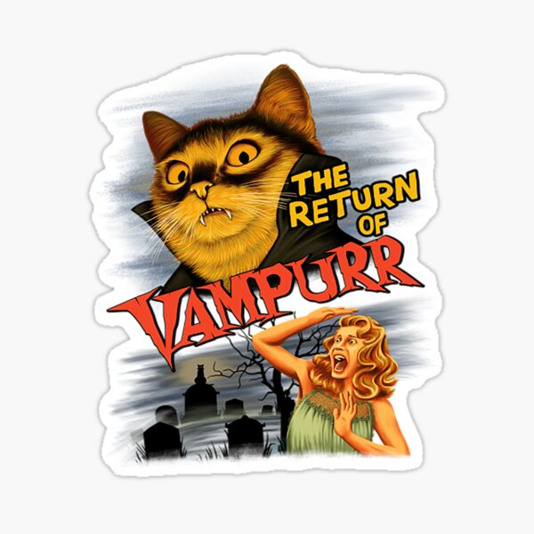 Cat The Return of Vampurr Sticker