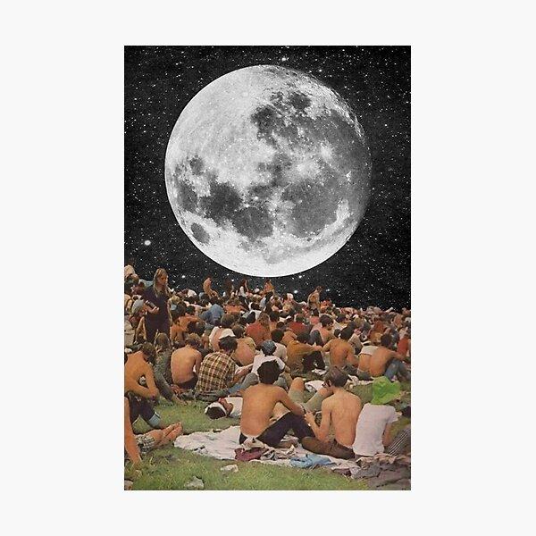 Woodstock Moon Photographic Print