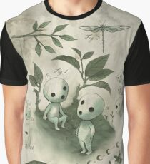 Natural History - Forest Spirit studies Graphic T-Shirt