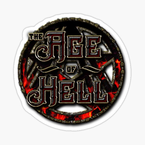 Age Of Hell Sticker