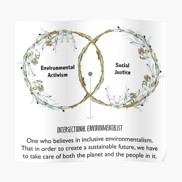 Intersectional Environmentalism Poster