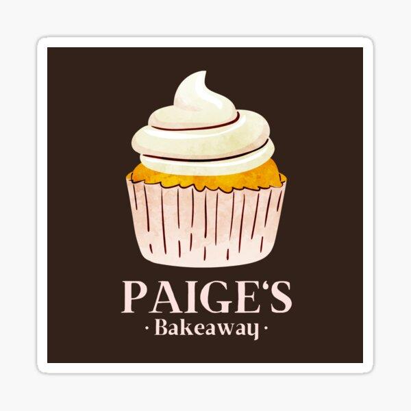 Paige's Bakeaway Virgin River Netflix inspired fan art Sticker