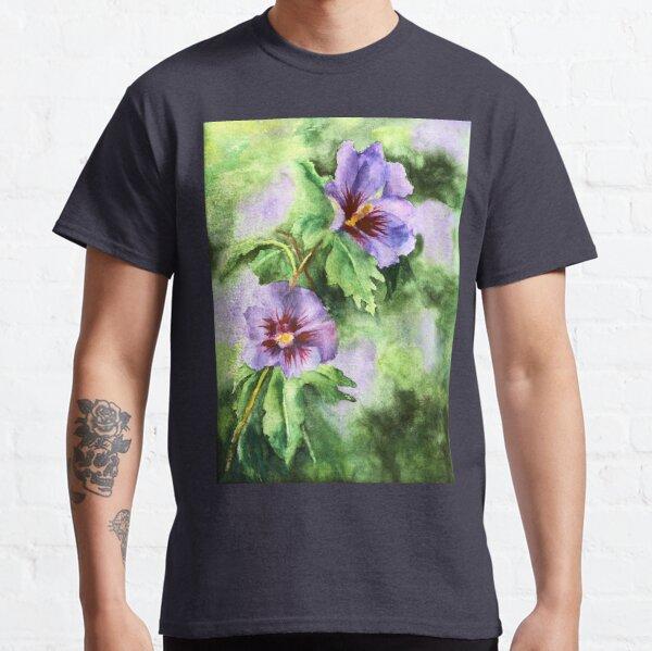 Summer Glory Watercolour on Paper. Sher Nasser Artist. Classic T-Shirt