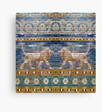 Lions from Babylon Canvas Print