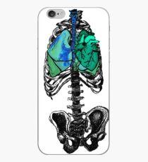 Pop Art Skeleton Torso iPhone Case