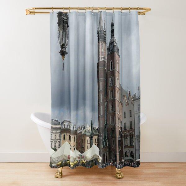 St. Mary's Basilica in Krakow, Poland Shower Curtain