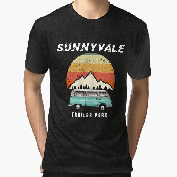 Trailer Park SunnyVale Boys Vintage Gift Tri-blend T-Shirt