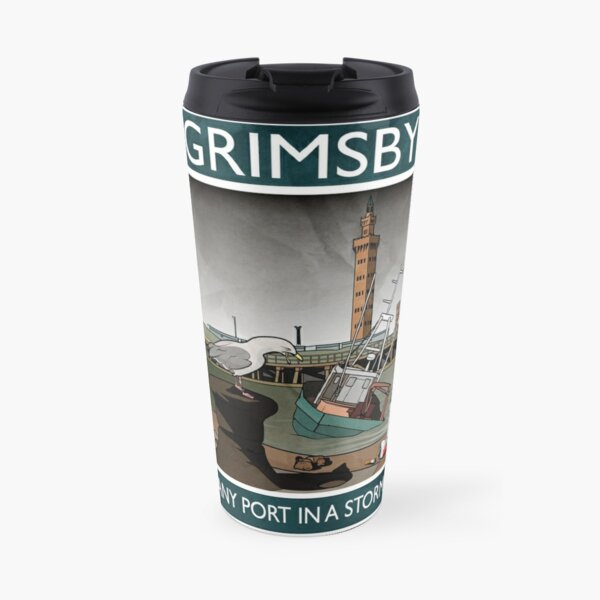 Grimsby - Any Port In A Storm Travel Mug