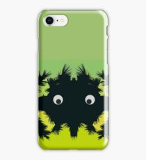 Weird parasite -colored edition iPhone Case/Skin