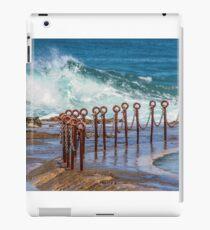 Ocean pool Newcastle NSW Australia iPad Case/Skin