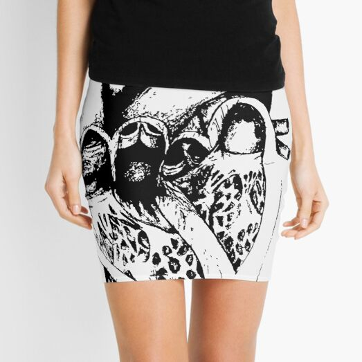 H E A R T ❤ Mini Skirt