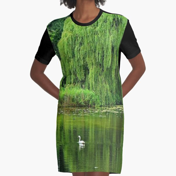 spiritual significance of weeping willow Graphic T-Shirt Dress