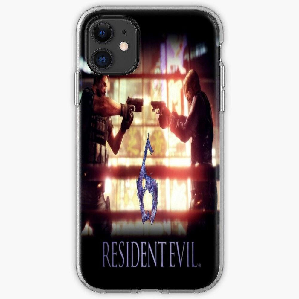 Resident Evil 6 Iphone Case Cover By Ravenandkuba Redbubble