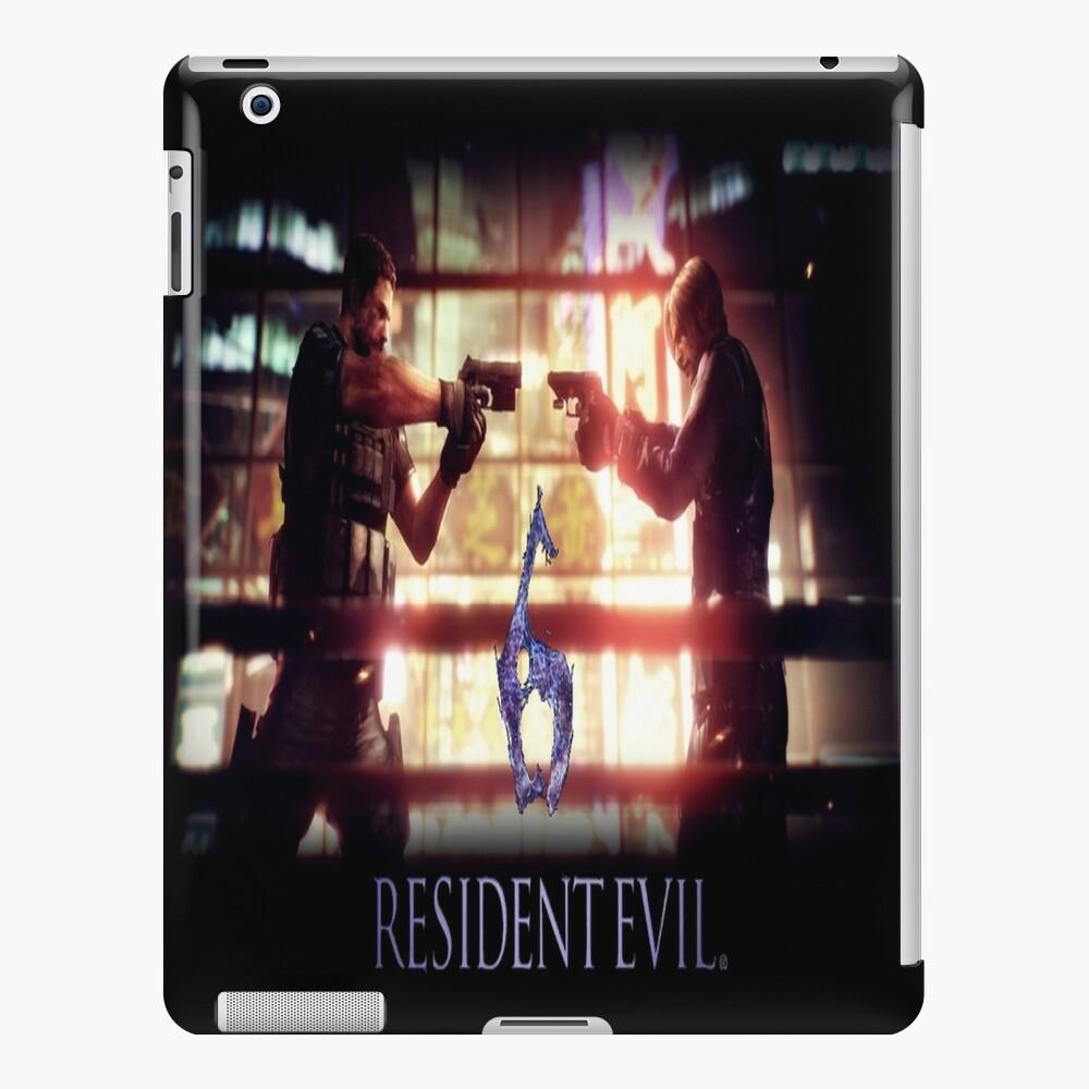 Resident Evil 6 Ipad Case Skin By Ravenandkuba Redbubble