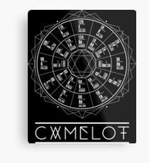 Camelot Wheel / Circle of Fifths Metal Print
